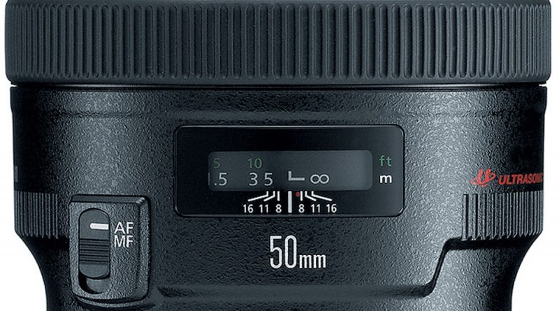 Lensa Canon 50mm f/1.4